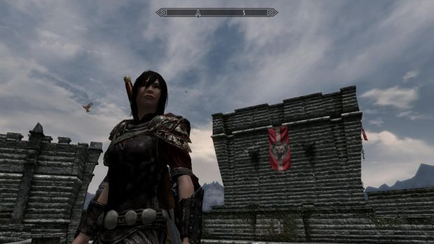Bellona, Roman goddess of war, in skyrim?!?! by sugnaO