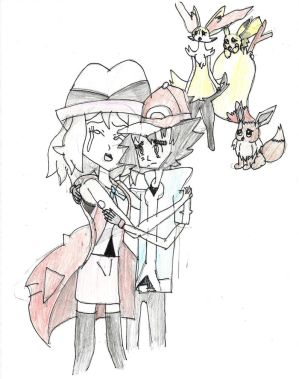 Ash- don't cry Serena.... by Pikafan09