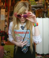 Luna Lovegood Cosplay. by Mlle-Svenskah