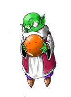 transparent dende by TheBombDiggity666