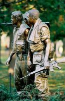 Vietnam Memorial 4 by kintamasan