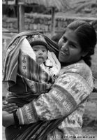 Mother and Child Cusco by phototheo