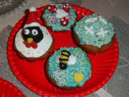 Cupcakes - 11/03/15 - Sis' Plate by Toothless6reach