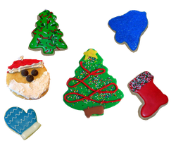 Christmas Cookies by 1purplepixie