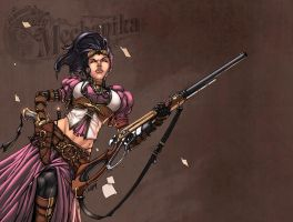 Lady Mechanika Color by logicfun