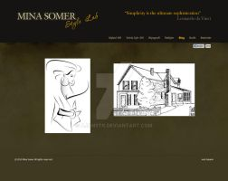 Mina Somer Web Desing by AjansTR