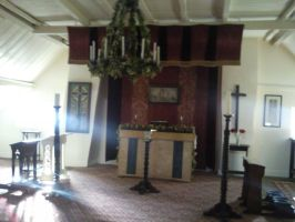 The chapel above the Talbot House by furiousflamewolf