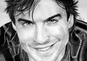 Ian Somerhalder aka D. Salvatore, Vampire Diaries by Mim78
