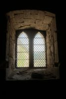 Senanque Abbaye - Inside window by elodie50a