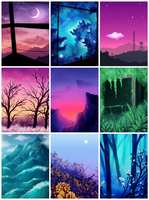 Sceneries Compilation  by CosmosKitty