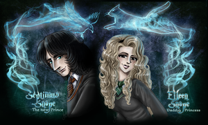 Septimus and Eileen Snape - Wallpaper by RedPassion