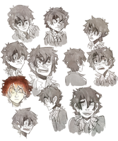 some nico expressions by finnick-odairs