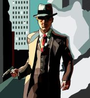 Cole Phelps-  L.A. Noire by hollytabatha