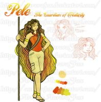 Rise of the Guardians OC: Pele by AuroraFox