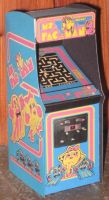 Ms Pacman Arcade cabinet by paperart