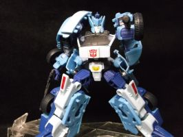Blurr, the fastest talker, the best sharp shooter by forever-at-peace