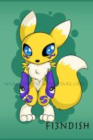 Renamon Chibi by Fi3ndish