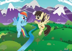 WildFire and RainbowDash lost (Dynamic) by LastSecondHero