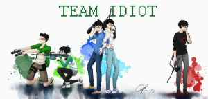 Team Idiot by nautilus-deepbluesea