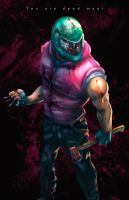 Hotline Miami | Biker by DarkeDny
