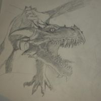 Latest Project- Dragon by Rav3nf13nd