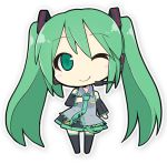Chibi miku basic by Ladfa-B