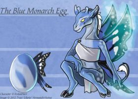 Blue Monarch - Adoptable by Ulario