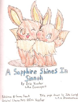 Sapphire Shines: Cover Page by Dreamaniacal