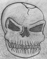 Skull Art Concept by shadow-recon-666