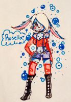 Rosella the bunny by SourSkull365