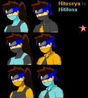 Hitifona`s genderbanding by HitomiMPN