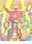 Adoration of the Shepherds by belianis