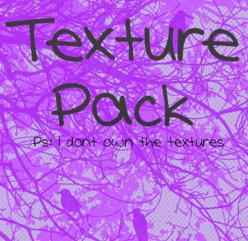 Texture Pack (i dont own the textures) by AmberHoranBiebs