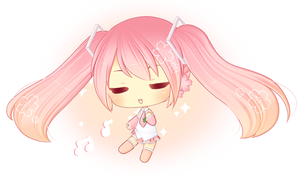 I sing for you - Sakura Miku by Over16Bit