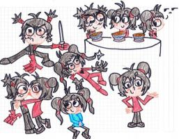 Pucca ET style by MeryAlex