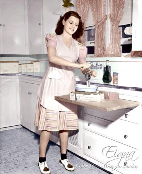 Cooking It Old School with Rita Hayworth by BooBooGBs