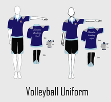 S.A.I.L. - Sport Uniform Line-up - Volleyball by VioletZen