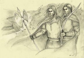 Captains of Doriath by hrymfaxe