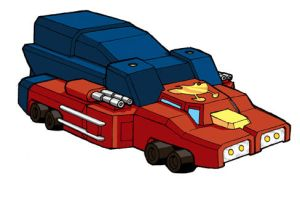 OPTIMUS PRIME - VEHICLE MODE by Bots-of-Honor