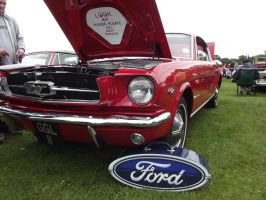 1965 Ford Mustang Front by JS92