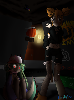 Hanging Out in an Alley by LiveWireGoth