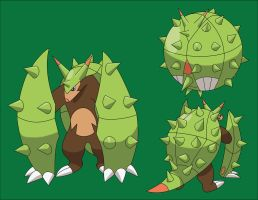Chespin Fan Evo by ThatDevGuy