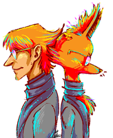 Peter/Goldie Foxx by Lollonz
