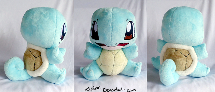 Squirtle by xBrittneyJane