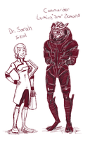 I'm in love with MassEffect by Creativegreenbeans