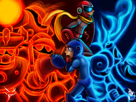 Megaman 10 collab project by wyvernsmasher