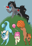Birthday gift - Catch them all! by just-agu