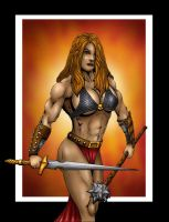 Red Sonja by Romey1973
