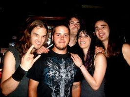 me with halestorm by DesignsByTopher