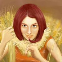 Wheat girl? by soursprite